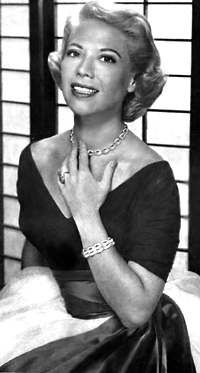 Dinah Shore (born Frances Rose Shore; February 29, 1916 – February 24, 1994) was an American singer, actress, and television personality. She reached the height of her popularity as a recording artist during the Big Band era of the 1940s and 1950s, but achieved even greater success a decade later, in television, mainly as hostess of a series of variety programs for Chevrolet.