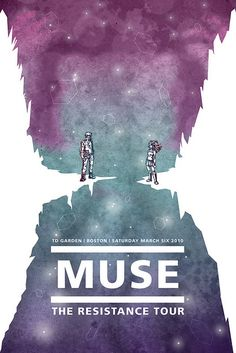 Muse Concert Poster by cheshyre-drops, via Flickr