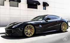Ferrari F12 with Custom Wheels by CEC in Los Angeles CA . Click to view more photos and mod info.