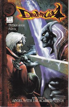 Devil May Cry 3 Variant Cover B  Dreamwave by ViewObscura on Etsy