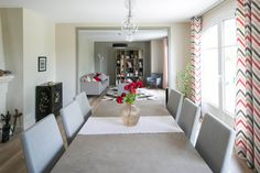 Rénovation d'une maison Oversized Mirror, Salons, Design, Furniture, Home Decor, Green, Modern, Home, Lounges