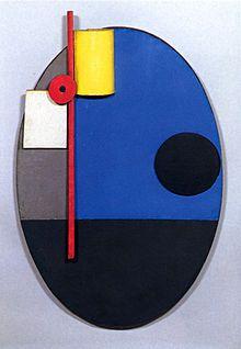 Kurt Schwitters. Untitled (Oval Construction), c.1925, Yale University Art Gallery.