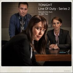 Line of Duty - Series Two begins tonight at 9pm on BBC Two. Will you be watching?
