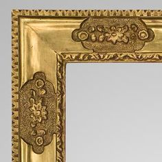 Frame, Rare Carved and Gilt, by Charles Prendergast. Find this and other decorative arts at CuratorsEye.com.