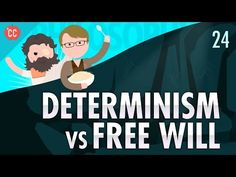 Do we really have free will? Today Hank explores possible answers to that question explaining theories like libertarian free will and its counterpoint har. Philosophy Theories, Philosophy Of Science, Curriculum, Homeschool, Teaching Theatre, Co Parenting, Parenting Classes, Religious Studies, Social Science