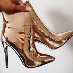 boohoo.com (@boohoo) | Twitter Sock Shoes, Shoe Boots, Metallic Boots, Im So Fancy, Out Of The Closet, Fancy Shoes, Diabolik Lovers, Night Outfits, Fashion Over