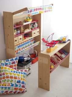 Little shop with byGraziela 1,2,3-design fabric!