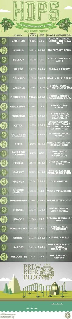 Hops A Homebrewers Guide