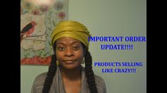 Important Order Update Natural Shampoo, Natural Women, Shampoo Bar, Gorgeous Hair, Hair Inspiration, Natural Hair Styles, Conditioner, Curly, Youtube