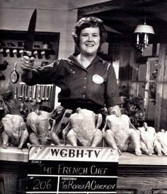 'I always give my bird a generous butter massage before I put it in the oven. Why? Because I think the chicken likes it …' - Julia Child.