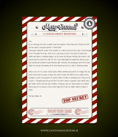 Download for free from www.santasmailroom.ie