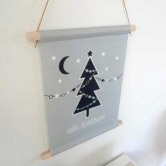 textielposter-oh-denneboom-kerst-kerstboom-kerstinterieur-hiphuisje