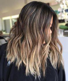 Ash Bronde Balayage Hair