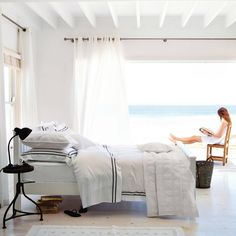 Charlton Bed Linen Collection | The White Company. Shopping from the US? -> http://us.thewhitecompany.com/search?text=Charlton+Bed+Linen+Collection