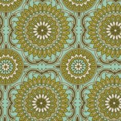 Bungalow - Forest Doily - Cotton Sateen Fabric by Joel Dewberry from Free Spirit