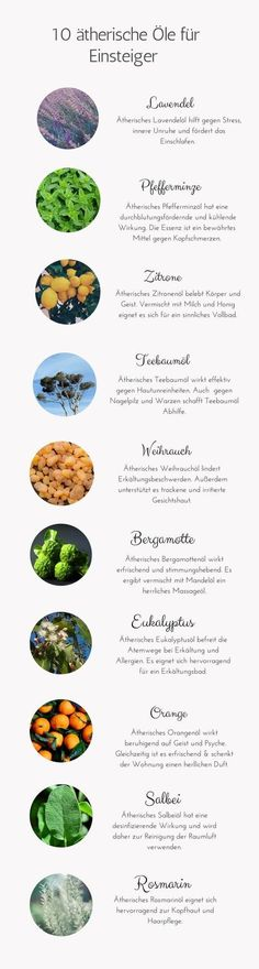 Essential oils - the ultimate guide- Ätherische Öle – die ultimative Anleitung Essential oils possess the concentrated powers of various plants. 10 essential oils for beginners shows the most important essential oils for the beginning. Essential Oil For Sunburn, Essential Oils For Headaches, Essential Oils For Hair, Essential Oil Blends, Bug Spray Recipe, Oil For Headache, Hair Growth For Men, Oils For Dogs, Diy Shampoo