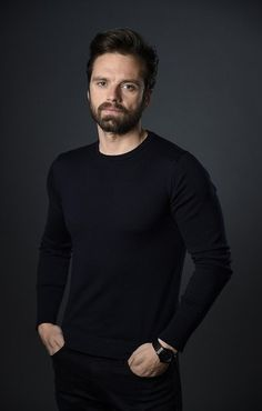 Celebrities - Sebastian Stan Photos collection You can visit our site to see other photos. Sebastian Stan, Bucky Barnes, Benedict Cumberbatch, Tom Hiddleston, Youtubers, Bae, Le Male, Man Thing Marvel, Raining Men