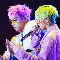 G-DRAGON & TOP // BIGBANG