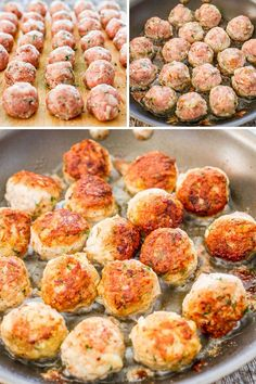 """Romanian Meatballs, known as """"Chiftele"""" are one of the most popular Romanian dishes. Learn to make the mother of all meatballs, nothing beats these meatballs. Supper Recipes, Appetizer Recipes, Great Recipes, Appetizers, Recipe Ideas, Easy Recipes, Favorite Recipes, Scottish Recipes, Turkish Recipes"""