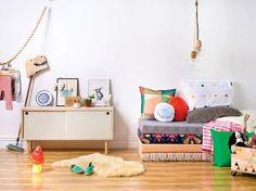 Children's room - Lounge area - Homestyle - Via FANCY! Kids Corner, Cosy Corner, Style At Home, Childrens Room, Casa Kids, Deco Kids, Kid Spaces, Kids Decor, Decor Ideas