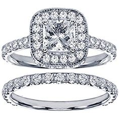 2.42 CT TW Pave Set Diamond Encrusted Princess Cut Engagement Bridal Set in 14k White Gold - Size 7  Product ViewSee larger image and other views (with zoom)Product ScreenshotsCheck All OffersAdd to Wish ListCustomer ReviewsDescriptionThis irresistible engagement ring set features a marvelous 0.72 http://ecx.images-amazon.com/images/I/51gvQYxS3AL._SL300_.jpg http://electmejewellery.com/jewelry/wedding-anniversary/242-ct-tw-pave-set-diamond-encrusted-princess-cut-engagement-br