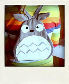 DIY Totoro backpack