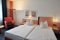 Alle unsere Komfort-Doppelzimmer haben eine Größe von ca. 26 m².