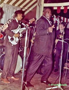 Hubert Sumlin and Howlin' Wolf