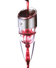 Pro Wine Aerator Siensync(TM) 0-6 Speeds Professional Adjustable Wine Aerating Decanter for Whiskey, Red Wine, Premium Wine Dispenser >>> Be sure to check out this awesome product.