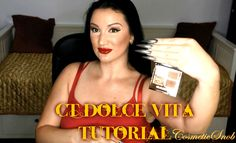 Hooded Eyes Tutorial Charlotte Tilbury The Dolce Vita Eyeshadow Palette ...