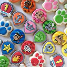 paw patrol cookies - Google Search