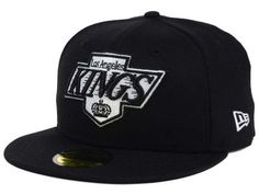Dance with your favorite National Hockey League team; this Los Angeles Kings New Era NHL Black Dub 59FIFTY Cap stands out in a crowd.  With the Los Angeles Kings branding in front and back, the fitted high crown cap has a flat rounded bill and air vents to keep everything on ice.