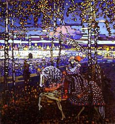 Kandinsky, Wassily - 1906 Couple Riding | by RasMarley