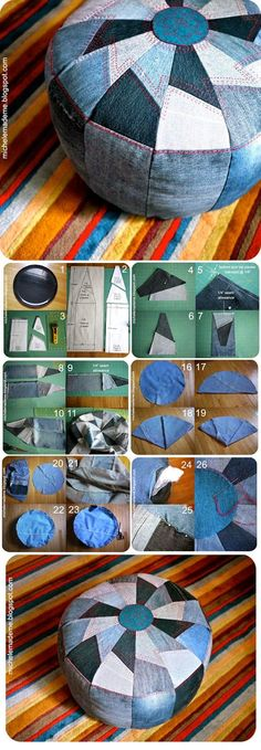 ABCDIY: 13 Ideas to Recycle Old Jeans into Useful Things