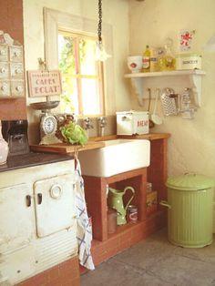 mini remins me of first kitchen in W VA