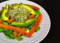 Roasted Carrots and Avocado Salad | Reboot With Joe