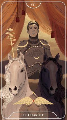 Tarot de l'an III chariot