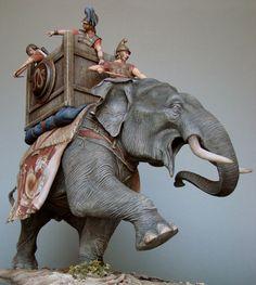 Macedonian war elephant