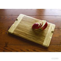 SERRV - Fair Trade Bamboo Cutting Board from Mai Handicrafts in Vietnam.  The 300 artisans (80% are women) associated with Mai Handicrafts are earning between US$50 and $70 a month in a country where the average monthly income is US$20-30. Many are able to work from their homes or in small workshops instead of seeking work in Vietnam's factory industries.