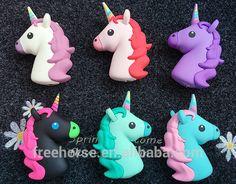 2017 New products 2600mah cute emoji unicorn power bank