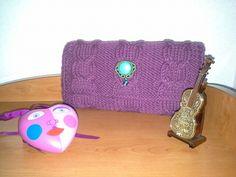 #pochette#bag#knitting#lana#handmade#fattaamano#soutache#creareconpassione#colors