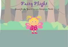 Year 2 Common Exception Words - Fairy Flight