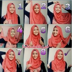 #tutorialhijab by @meilials nice..