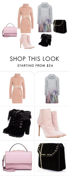"""soyez chics l'hiver arrive"" by asma150302 on Polyvore featuring mode, Valentino, Twister, WithChic et Boohoo"