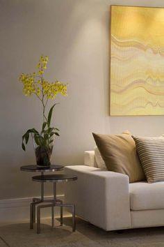 Arte e suavidade em apartamento paulistano (Foto: Divulgação)