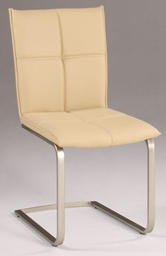 Chintaly Imports Jessica Cantilever Upholstered Side Chair Set
