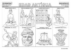 Fichas de la Edad Antigua