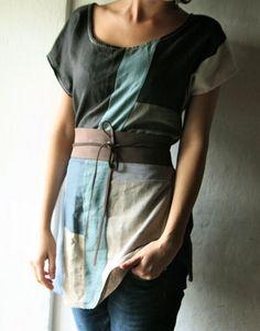 Farb-und Stilberatung mit www.farben-reich.com - Linen Tunic dress