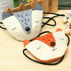 Only US$3.42 , shop Children Practical Shoulder Messenger Mini Cute Fox Felt Fabric Coins Keys Crossbody Handbag Purse at Banggood.com. Buy fashion Bags & Backpacks online.