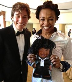 Myself, Siedah Garrett and Siedah Garrett as a We Are All The Same Inside ® Sage doll. (circa. 2013)